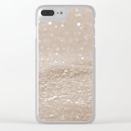 Shimmering Sands Clear iPhone Case