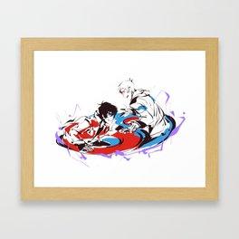 Yin Yang ( sketchy_messy ) Framed Art Print