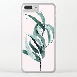 Eucalyptus II - Australian gum tree Clear iPhone Case