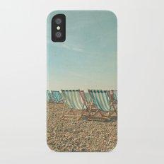 A Sea View iPhone X Slim Case