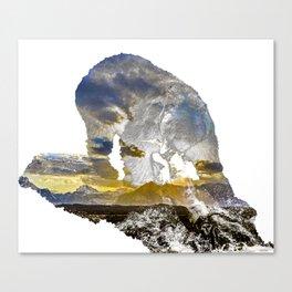Catching a Teton Sunset Canvas Print