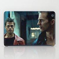 brad pitt iPad Cases featuring Edward Norton and Brad Pitt by Gabriel T Toro