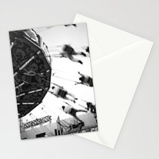 At the Fair: The Swings Stationery Cards