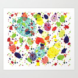 Great  Easter messy Art Print