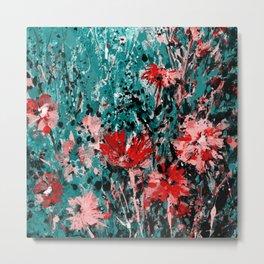 Floral Dream 1a by Kathy Morton Stanion Metal Print