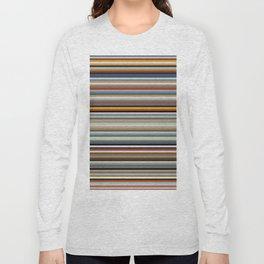 Nordic Stripes Pattern Horizontal Long Sleeve T-shirt