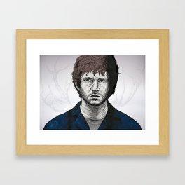 Help Will Graham Framed Art Print