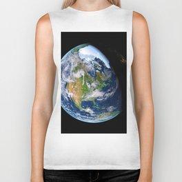 Planet Earth Biker Tank