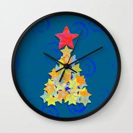 Tree of Stars Wall Clock
