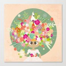 Blumenköpfchen Canvas Print