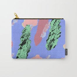 Fuchsia Rayon Carry-All Pouch