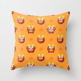 DARUMAKA PARTY Throw Pillow