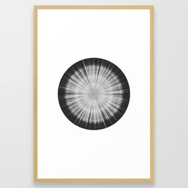 Sound of Saturn VI - Titan Framed Art Print