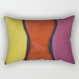 women abstract Rectangular Pillow
