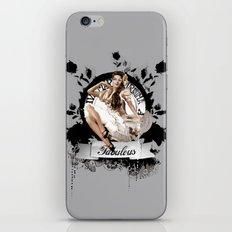Lady Fabulous iPhone & iPod Skin