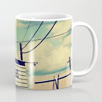 stanley kubrick Mugs featuring Stanley by Trish Mistric