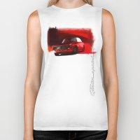 gta Biker Tanks featuring Alfa Romeo Giulia Sprint 1600 GTA by Vadim Artemyev