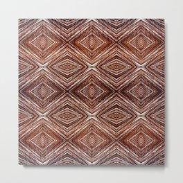 Memories of Woven Grass Metal Print