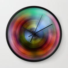 Rainbow Eye Wall Clock