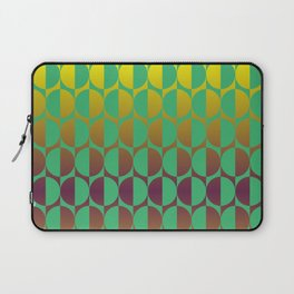 1974, green and gold and golden brown Laptop Sleeve