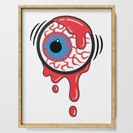 Bloody Eyeball Serving Tray