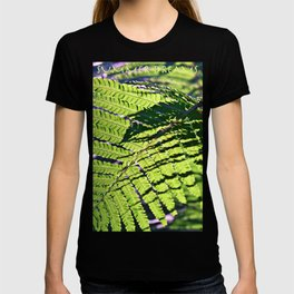 Green Fern in Sunny Dreams T-shirt
