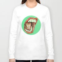 cabin pressure Long Sleeve T-shirts featuring Pressure by Christina Patti