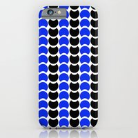 HobNob BlueBlack Print, Canvas and Laptop/iPad Skin iPhone 6s Slim Case