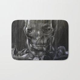 Death Smokes Bath Mat