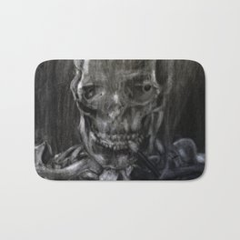 Death Smokes Bath Mat
