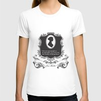 jane austen T-shirts featuring Jane Austen Snarky Quote by ArtSoElectric