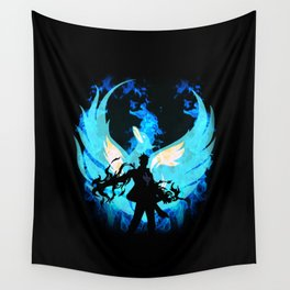 Marco the Phoenix Wall Tapestry