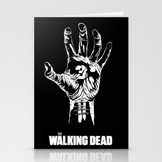 The Walking Dead 3 Stationery Cards