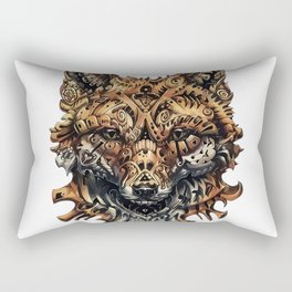 Steampunk - Fox Rectangular Pillow