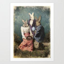 Rabbit Conspiracy Art Print