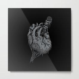 Vampire Heart Metal Print