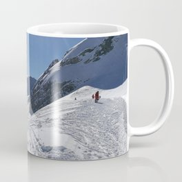 Up here, with sun and snow Coffee Mug