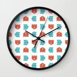Bears, Bears, Bears... Oh My! Wall Clock
