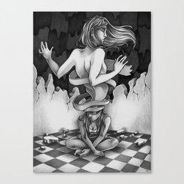 Depersonalization Canvas Print