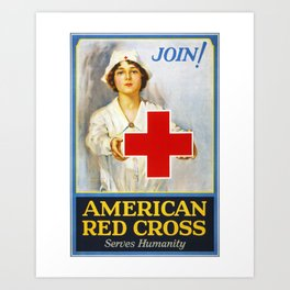 Join!, nurses week 2020, gifts for nurses, nurses week, nurse retirement gifts, cna gifts, WW1 Art Print