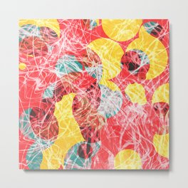 Colorful abstract artwork Metal Print
