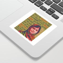Malala Yousafzai. Sticker