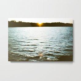 End of Daylight Metal Print