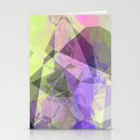 polygon Stationery Cards featuring Polygon by Fine2art