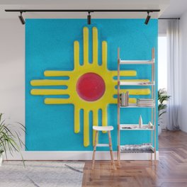 Zia Sun God  Wall Mural