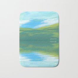 The Clearing With Reflection Bath Mat