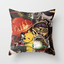 Then The Devil Is 6 Throw Pillow