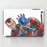 heroes iPad Cases featuring Heroes  by Molly Thomas