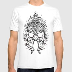 El Luchadore Mens Fitted Tee White MEDIUM