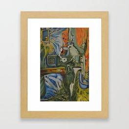18 hours Framed Art Print